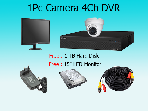 1 High Resolution Camera Package with Monitor (2)