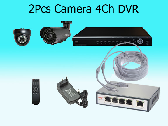 2 High Resolution Cameras with Cloud Based Monitoring System